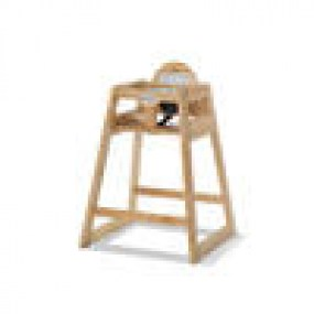 Foundations Wood High Chair Natural